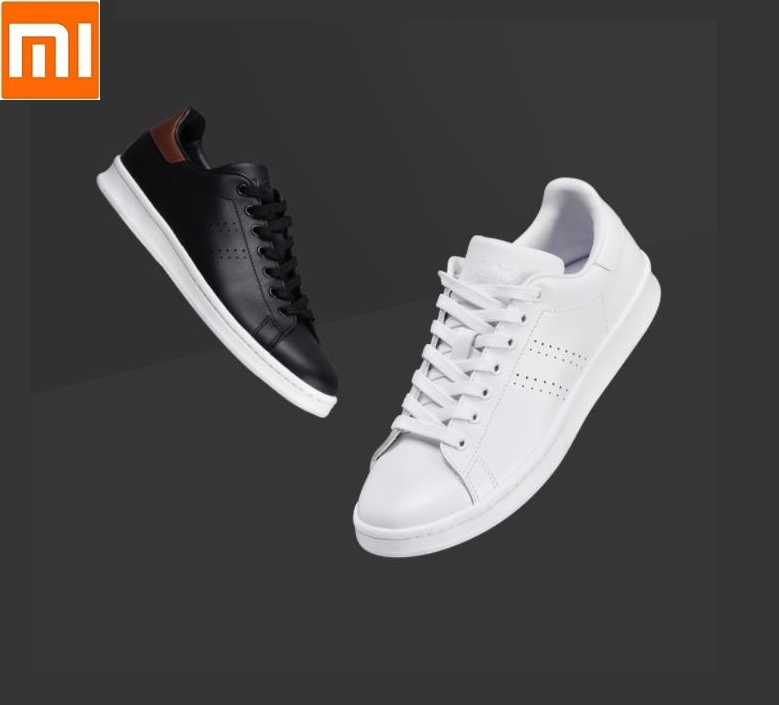 Xiaomi FREETIE City Classic Shoes First Layer Cowhide Trend Breathable Flat Casual Non-slip Sports Shoes For Men Women Sneakers