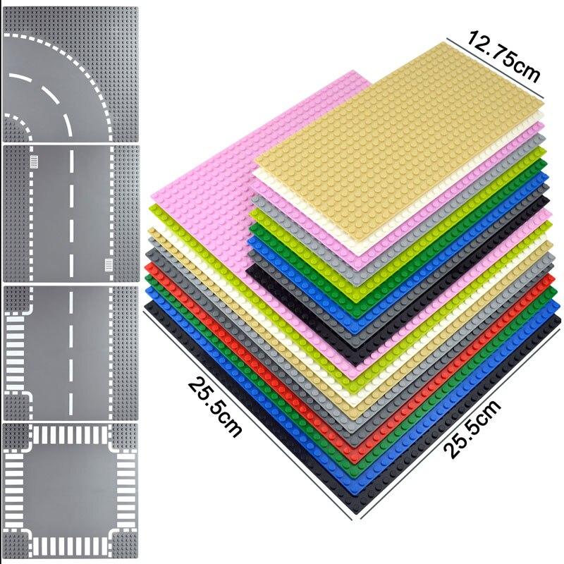 Kazi plaques de Base classiques briques en plastique plaques de Base compatibles grandes marques blocs de Construction jouets de Construction 32*32 points