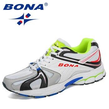BONA-Zapatillas Deportivas transpirables para Hombre, calzado para correr, informal, 2020