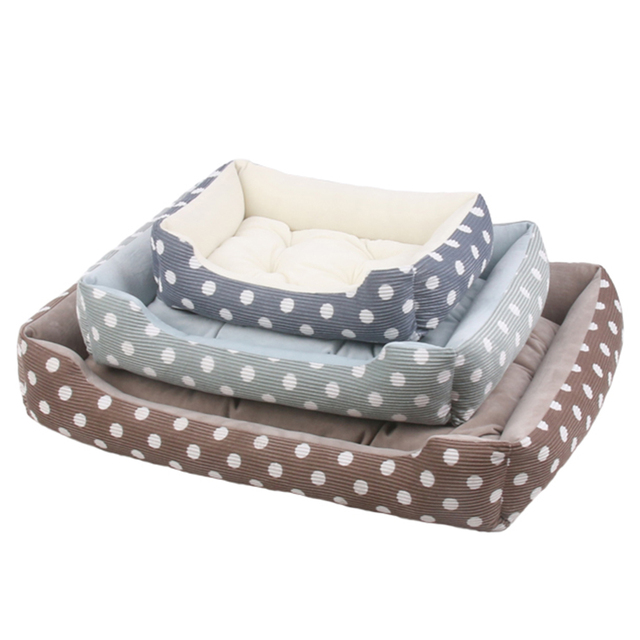 Plush Bed with Removable Pad  5