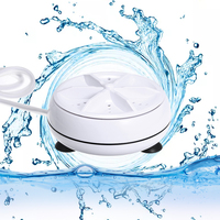 Dropshipping Mini Washing Machine Portable Personal Rotating Turbine Washer Convenient for Travel Home Business Trip for gift