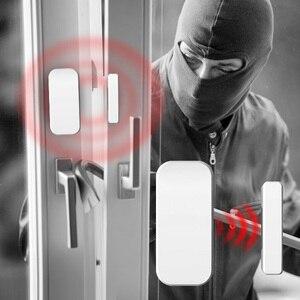 Image 5 - Fuers اللاسلكية الرئيسية نافذة الباب لص سلامة جهاز استشعار مغناطيسي 433MHz باب كاشف ل KERUI المنزل مكتب نظام إنذار أمان