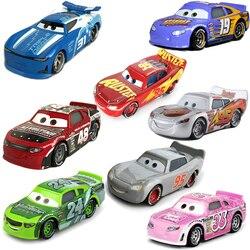 Disney Pixar Cars 2 Cars 3 No.95 Lightning McQueen Mater Jackson Storm Ramirez Vehicle Metal Alloy Boy Kid Toys Christmas Gift