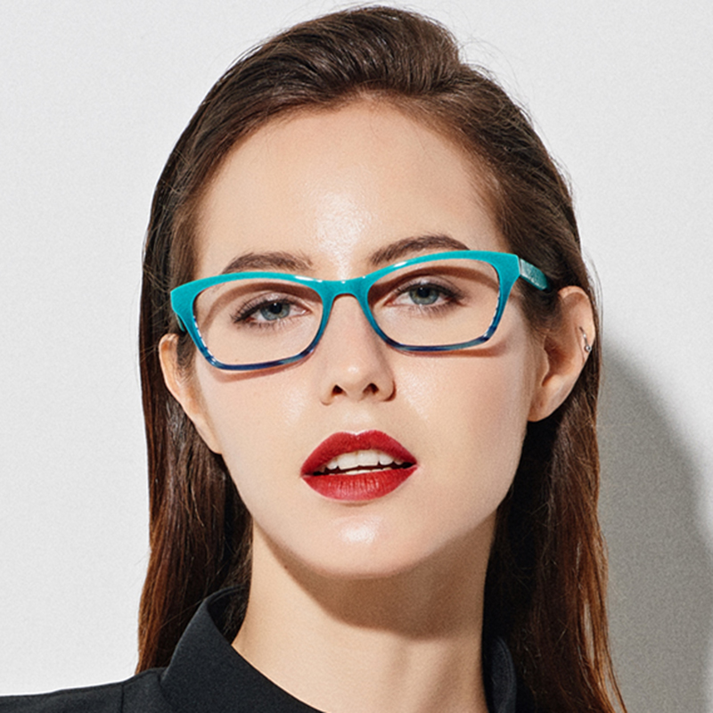 US $14.86 44% OFF|Glasses Frame Women Eyewear Frames Women Teal Retro Clear Glasses Myopia Spectacle Frame Optical Cat Eye Glasses Female Eyeglass|Women's Eyewear Frames| |  - AliExpress
