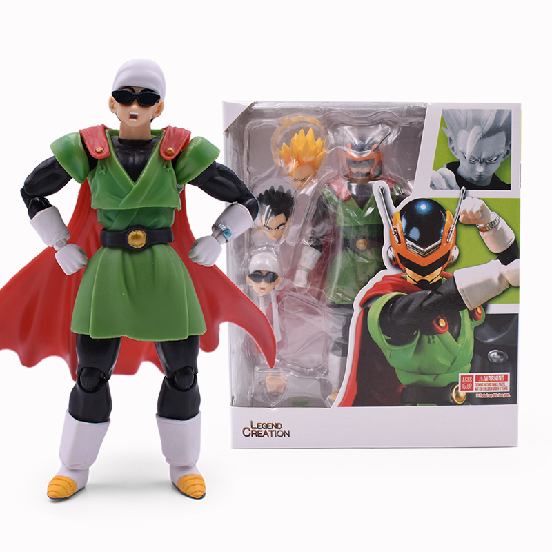 DragonBall Z SHF Son Gohan Great Saiyaman PVC Action Figure Toys Anime DBZ Super GokuGokou Zamasu Collectible Model Toy Doll
