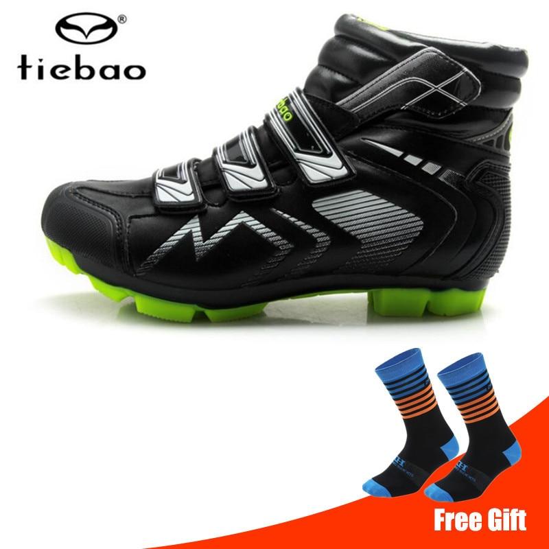 TIEBAO/зимняя обувь для велоспорта sapatilha ciclismo mtb Мужские кроссовки Женские с замком