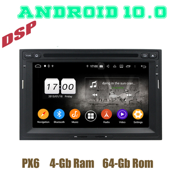 PX6 Android 10.0 Car GPS dvd radio Player for Peugeot 3008 5008 Partner Berlingo with DSP bluetooth 4+64GB Auto Stereo Headunit image