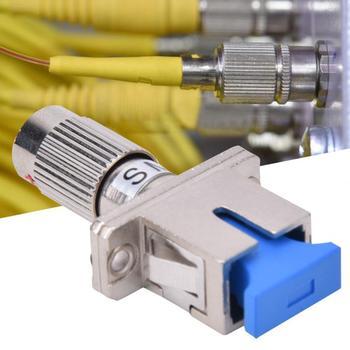 цена на Single Mode FC Male to SC Female Fiber Optic Adapter FC-SC Hybrid Converter Coupler Fiber Optic Hybrid Converter