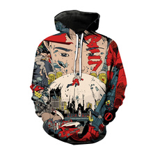 Trendy Akira 3D Printed Hoodies Anime Cosplay Sweatshirt Men Women Casual Fashion Oversized Hoodie Hip Hop Pullover Unisex Coats
