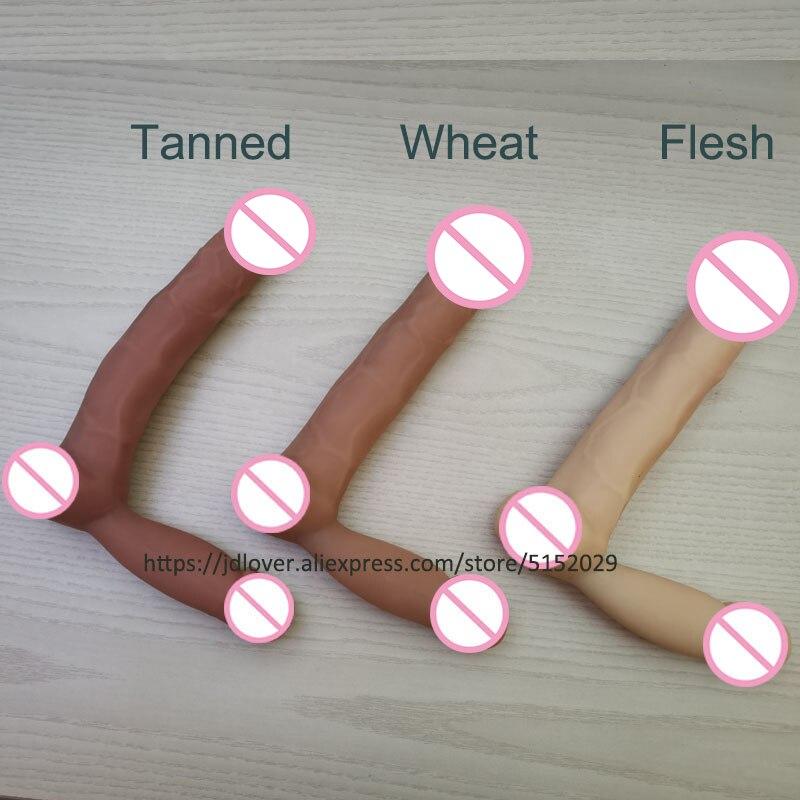 Hfe5ac7db48334003acd421e11e2e35eal Juego de insertos de pene de silicona para muñeca sexual femenina, piezas vendidas por separado, pene de silicona para muñecas sexuales de tpe