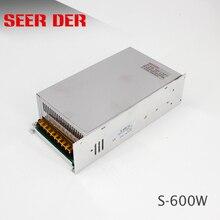 S-600-12 110V/220V ac auf 12 V dc transformator netzteil/600 w 12 v 50a führte smps netzteil