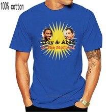T-shirt classica con scollo a v a maniche corte in cotone unico da uomo