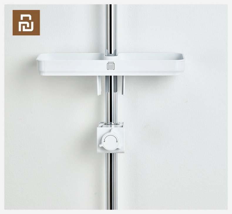 Youpin Dabai Portable Bathroom Showers Storage Rack Towel Hanging Shelf Hanging Storage Rack DIY Organization With HookSmart Remote Control   -