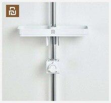 Портативный держатель Youpin Dabai для душевой кабины для ванной комнаты, вешалка для полотенец, подвесная полка для хранения, органайзер «сделай сам» с крючком