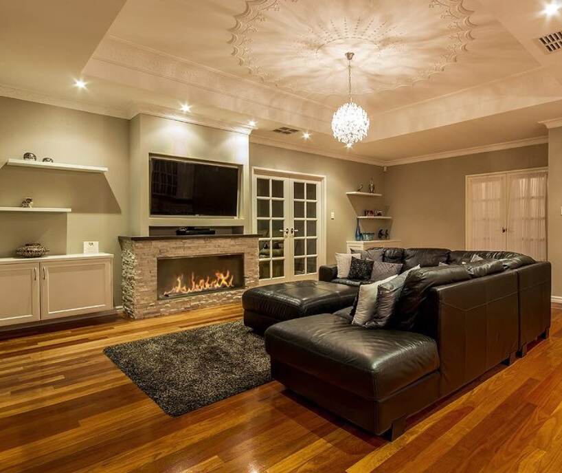 Hot Sale 48 Inches Smart Burner Bioethanol Indoor Remote Control Fireplace