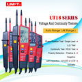 Вольтметр UT18A UT18B UT18C UT18D с автоматическим диапазоном  цифровой вольтметр  тестер напряжения  ручка со светодиодной индикацией