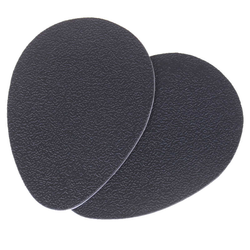 2PCS High Heel Sole Protector Rubber Pads Cushion Non Slip Insole Forefoot High Heels Sticker Anti-Slip Self-Adhesive Shoes Mat