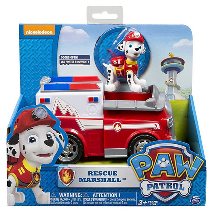 С принтом из мультфильма «Щенячий патруль набор игрушек для Everest трекер фигурку собаки из мультфильма «Щенячий патруль» для дня рождения с рисунком из аниме Рисунок патруль Paw patrulla canina, игрушка в подарок - Цвет: mashall