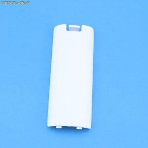 Image 5 - 1PC contrôleur de jeu sans fil boîtier de batterie couverture arrière pour Nintend Wii télécommande manette poignée batterie étuis couvre