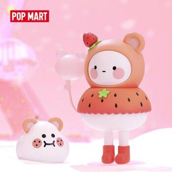 POP MART BOBO COCO шар земля игрушки фигурка глухая коробка фигурка подарок на день рождения Детская игрушка бесплатная доставка