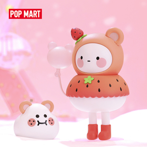 POPMART BOBO COCO Balloon land Toys figure blind box Action Figure Birthday Gift Kid Toy free shipping(China)