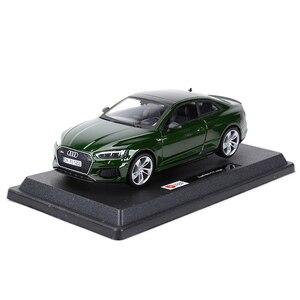 Image 4 - Bburago 1:24 Audi RS5 Coupe Sport Auto Statico Pressofuso Veicoli Da Collezione Modello di Auto Giocattoli