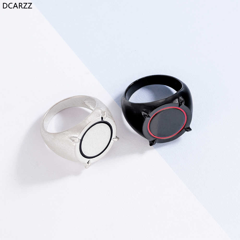 Ladybug and Cat Noir Adrien Ring Women Kids Black Ring Cat Noir Fans Cosplay Anime Cartoon Jewelry Party Engagement Silver Rings