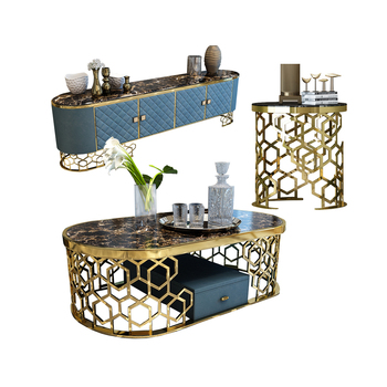tv stand meubles tv мебель monitor stand mueble tv тумба под телевизор tv cabinet + coffee table stainless steel natrual marble тумба под телевизор tv 2