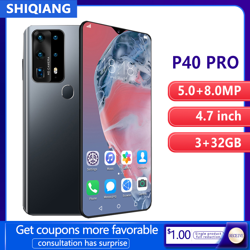 Soyes P40 Pro Mobiele Telefoon Android Smart Unlock Gezicht Id 6.7 Inch 3Gb Ram 32Gb Rom 2 Sim card Smartphones 4800Mah Mobiel