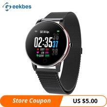 Geekbes WR14 Smart Watch 1.3 IPS Color Screen Smartwatch Metal Body IP68 Bracelet Heart Rate Sleep Monitor Multi-sport