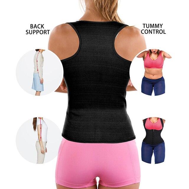 Postpartum Waist Trainer Belly Belt Fat Burning Weight Loss Workout Corset Women Sweat Body Slimming Vest Neoprene Body Shaper 1