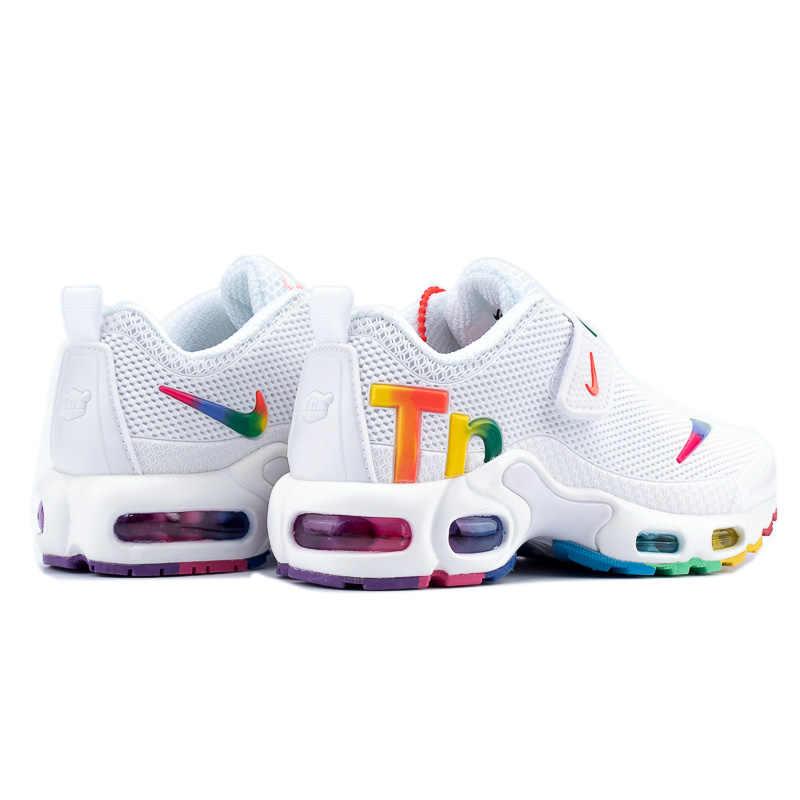 Buty dziecięce Nike Air Max Tn oryginalne nowości dziecięce wygodne buty do biegania Outdoor Sports Sneakers