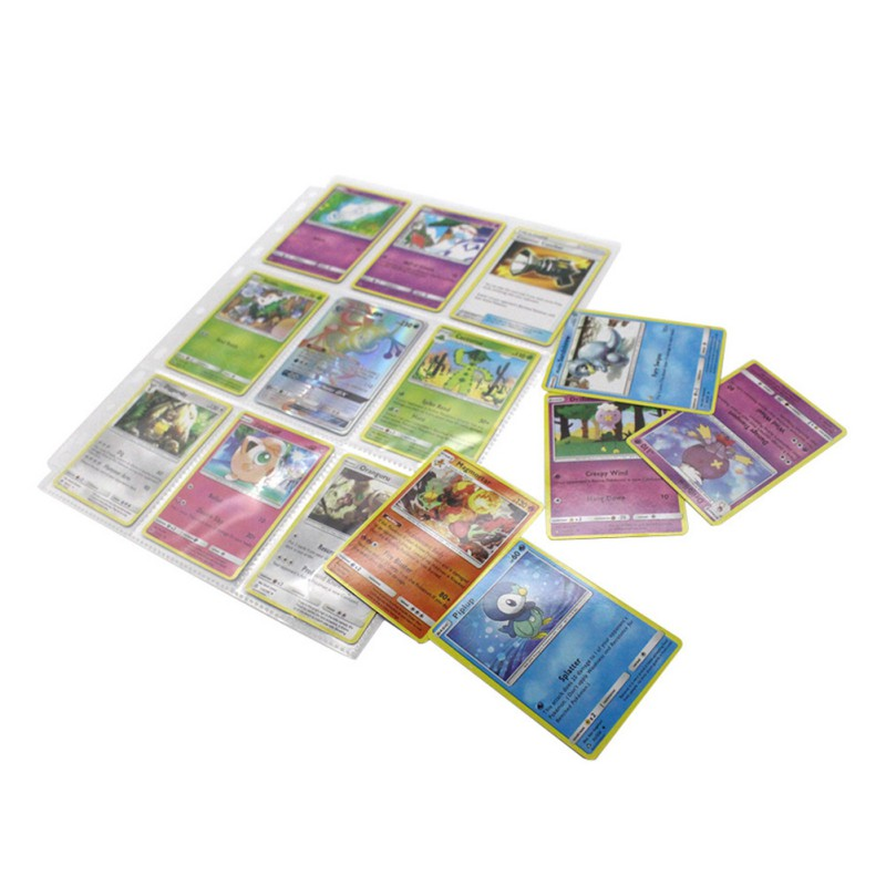 Card Sleeves Collector Binder Cards Storage Album Baseball Holder Sheets For Card Protector Magic