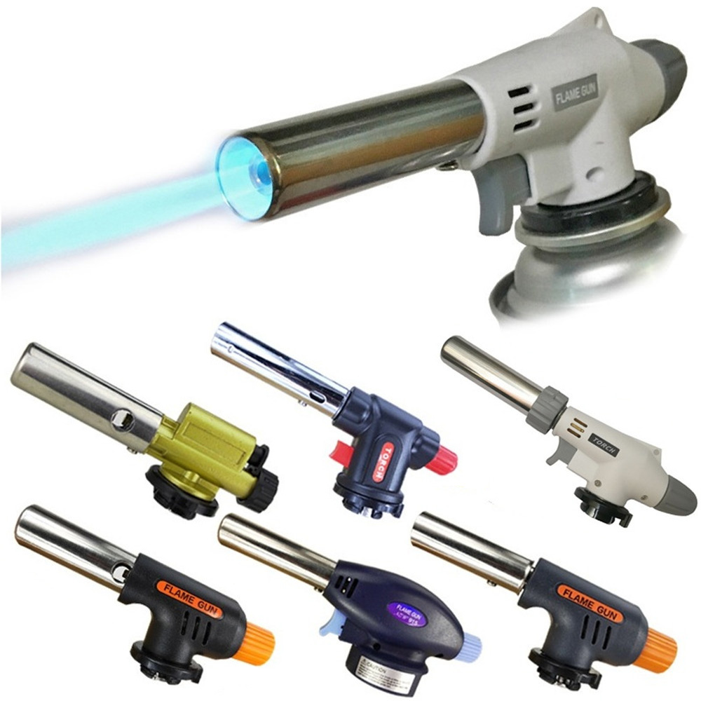 Multifunction Butane Gas Torch Professional Portable Welding Igniter Lighter For Welding Home Cooking Outdoors For BBQ Use