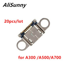 AliSunny 20pcs Porta USB Dock Connector per SamSung A3 A5 A7 A300 A500 A700 di Ricarica Micro Presa Spina di Ricambio parti