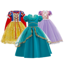 Костюм для косплея женское летнее Повседневное платье Белоснежки для вечерние маленькая принцесса фантазийные платья для маленьких девоч...