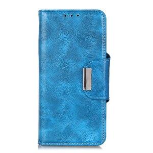 Image 3 - 6 כרטיס חריצי ארנק Flip עור מקרה עבור Wiko סאני 4 בתוספת Y80 Y70 760 ג רי 4 Stand סגירה מגנטית מזהה כרטיסי אשראי כיס