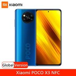 Смартфон Xiaomi POCO X3, NFC, 64 ГБ, 128 ГБ, Восьмиядерный процессор Snapdragon 732G, экран 6,67 дюйма, 120 Гц, 5160 мАч