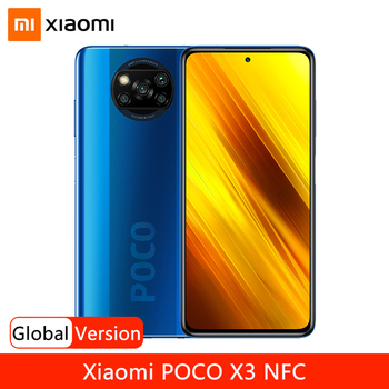 "Global Version Xiaomi POCO X3 NFC 64GB 128GB Smartphone Snapdragon 732G Octa Core 64MP Quad Camera 6.67"" 120Hz Display 5160mAh"