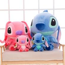 цены Disney 35-80cm Giant Cartoon Stitch Lilo & Stitch Plush Toy doll Stuffed Toy Children's birthday gifts