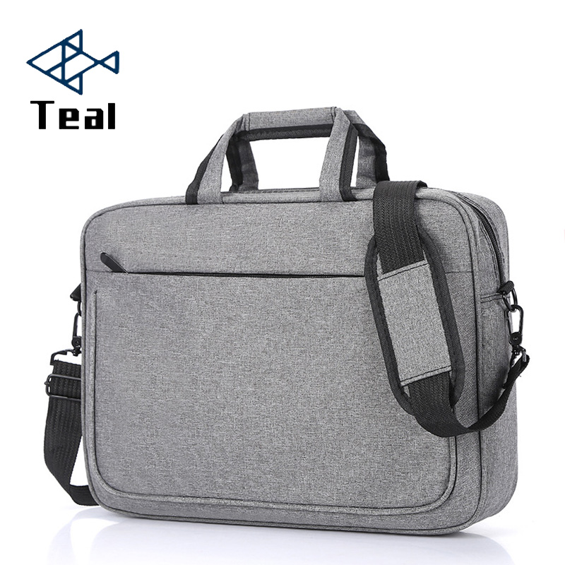 2020 Briefcase Men Handbag Large Capacity Portable Thin Super Multifunction Big 14inch 15.6 Inch Designer Laptop Handbags
