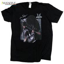 Stevie Ray Vaughan T Shirt - In Step 100% Official Import Blues Guitar Summer Short Sleeves Fashion T-Shirt Free Shipping bob ross official everybody needs a friend t shirt summer short sleeves fashion t shirt free shipping funny 100% cotton