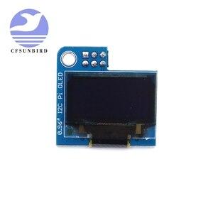 Image 5 - PiOLED   128x64 0.96 inç OLED ekran modülü ahududu Pi için 4