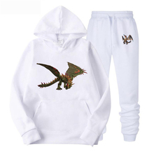 2019 New Hoodie Suit men  brand sweatshirt The Big Picture of Green Dragon hoodies fashion autumn clothes
