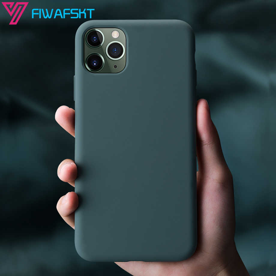 オリジナル液状シリコーンケース iphone X Xs 11 プロマックス XR 6 6s プラス 7 8 プラス 11Pro max X XS 10 ケースカバーキャンディーカラー Coque
