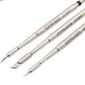 Original JBC C210-018 Soldering Tips For T210-A Soldering Pen And CD-2SE Soldering Station
