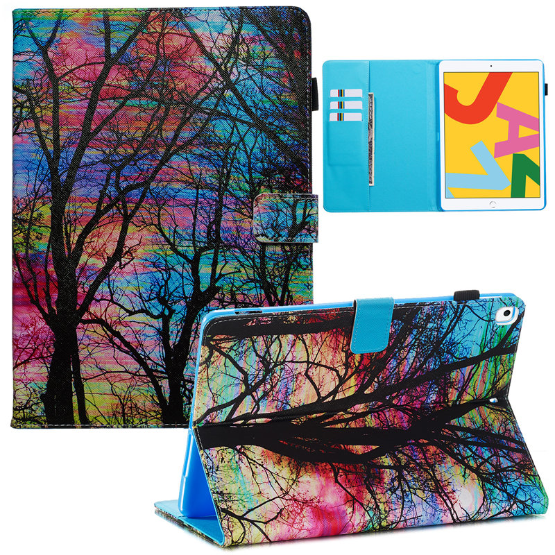 2019 7th Skin A2232 Smart Apple 10.2 A2200 Cover Funda For iPad Case Generation iPad for