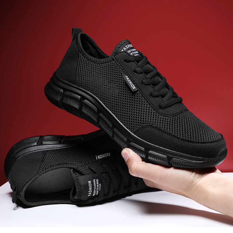 Men Casual Shoes Breathable Outdoor Mesh Light Sneakers Male Fashion Casual Shoes 2020 New Comfortable Casual Footwear Men Shoes 1