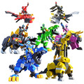 Newest Mini Force Transformation Toys Action Figures MiniForce X Simulation Animal Dinosaur Deformation Mini Agent Toy