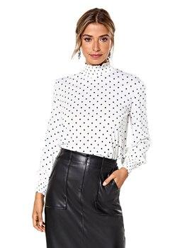 Camiseta de Pelo elástico para mujer, Camiseta de manga corta para cuello...
